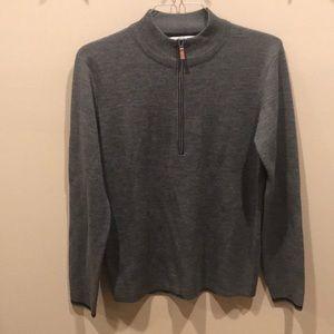 Obermeyer 50% Merino wool sweater. Like new Small
